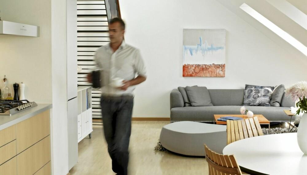 TENKER LANGSIKTIG: Det trenger ikke være dyrt å innrede med god design, mener Rafael Fagat.