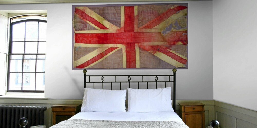 COLE&SON, Vivienne Westwood. Union Jack 86/13048 flagg. Utsalgspris cirka 3304 kroner pr rull.