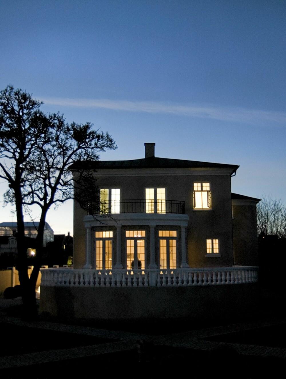 HERSKAPELIG: Villaen fra 1920 ble rehabilitert i samspill med arkitekt Lars Gitz.