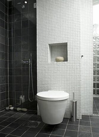 Toalettet er designet av Philippe Starck og sto høyt på parets ønskeliste.