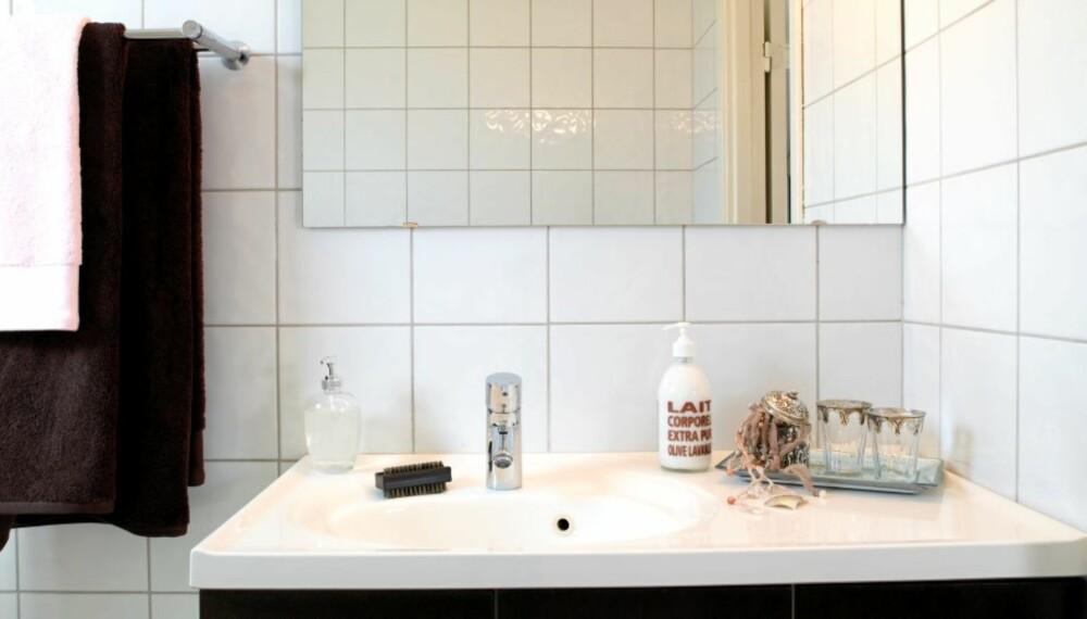 NYTT: Badet har fått et helt nytt preg etter den enkle fornyelsen.