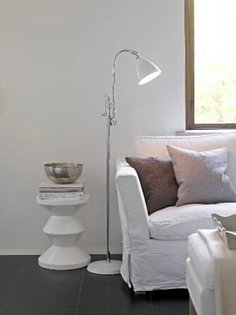Ikke helt hvitt: Alt bør ikke være helt hvitt. Skal balanse med sterke farger og hvitnyanser.