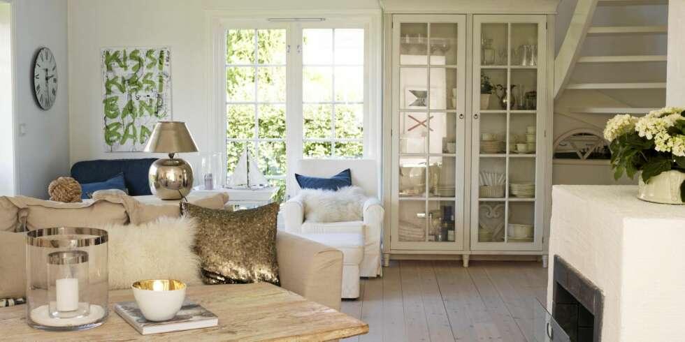 Klassisk og lys innredning i robuste materialer inspirasjon - Decoraciones de casas modernas ...