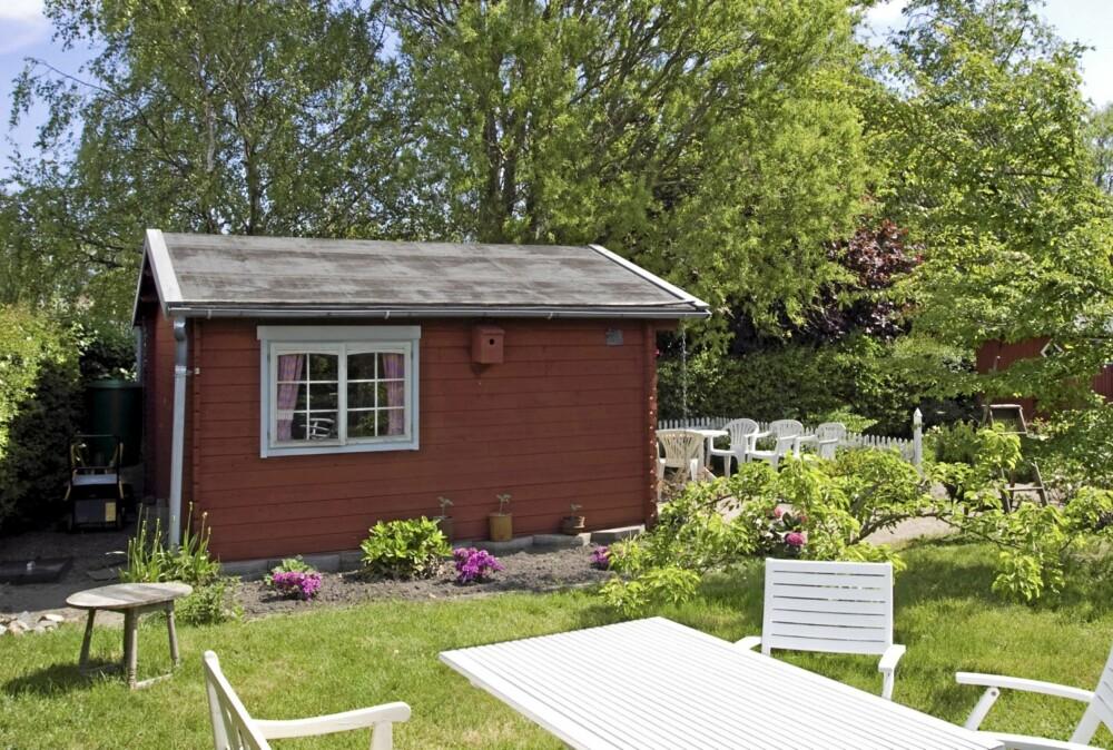 IKKE SØKNADSPLIKTIG: Den lille redskapsboden eller dukkehuset ute i hagen kan du bygge uten å søke, dersom den er under 15 kvm.