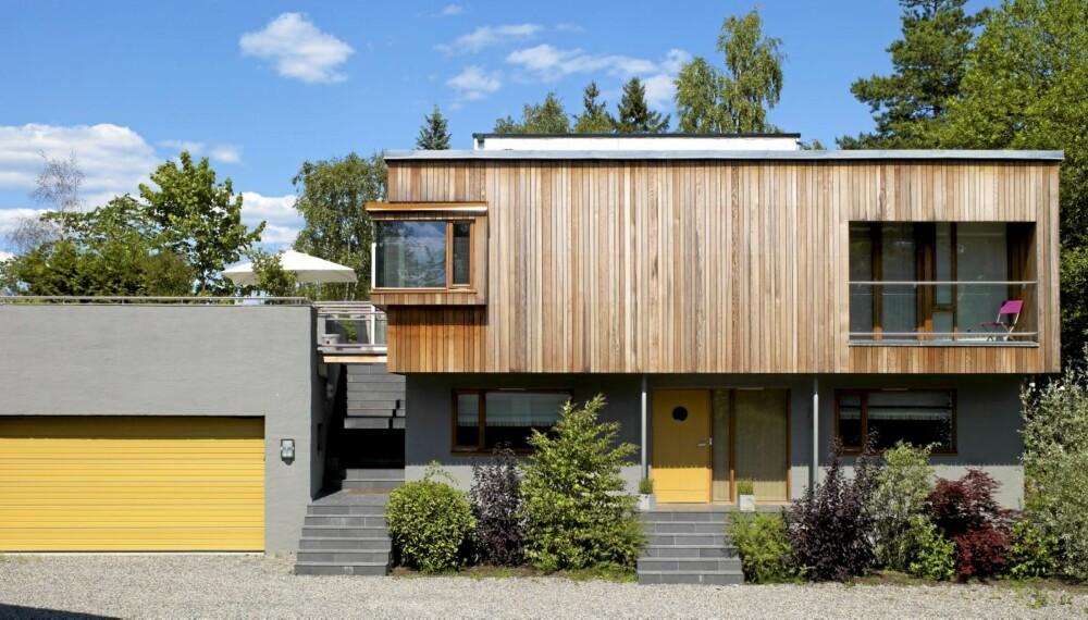 FORVANDLING: Boligen er opprinnelig tegnet av arkitekt H. Kinck og senere ombygd av sivilarkitekt MNAL Kristian Vårvik hos Kvarts Arkitekter.