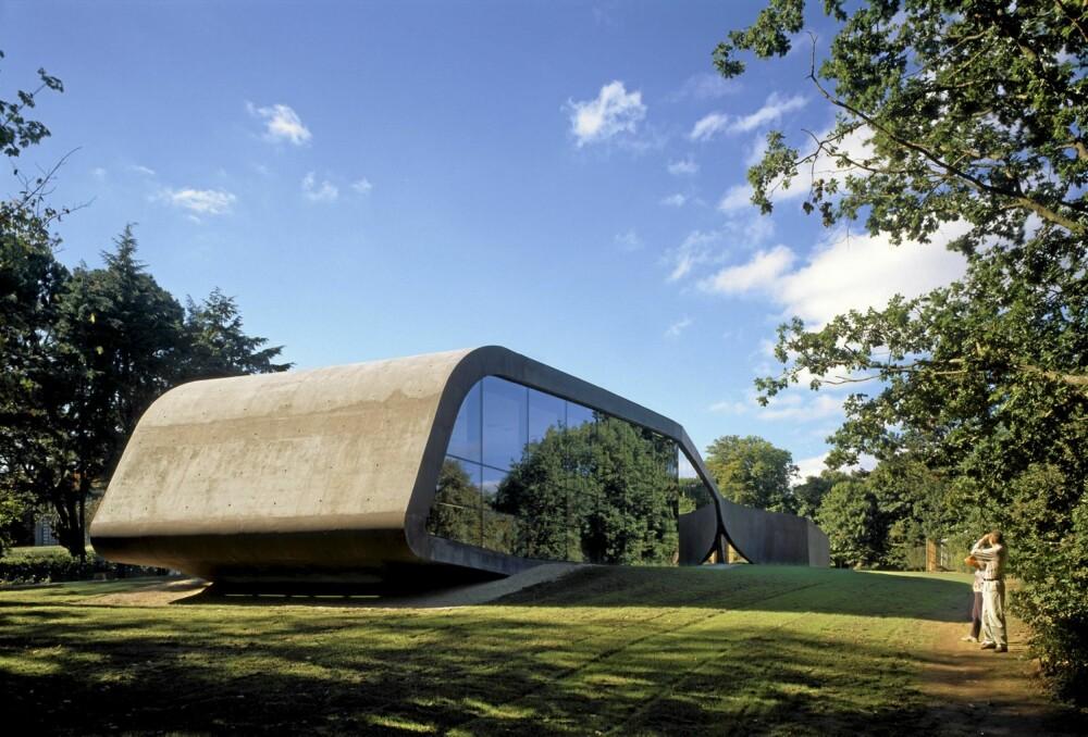 STJERNEDESIGN: Stjernearkitekt Zaha Hadid har tegnet et tilbygg til Erweiterung Ordrupgaard Museum like nord for København.