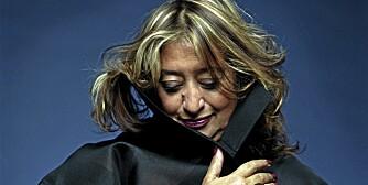 STJERNEARKITEKT: Zaha Hadid.