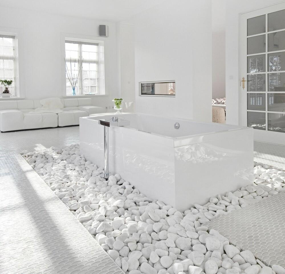 Stylist Maluna Fabrins villa i danmark , innredet etter feng shui-prisippet