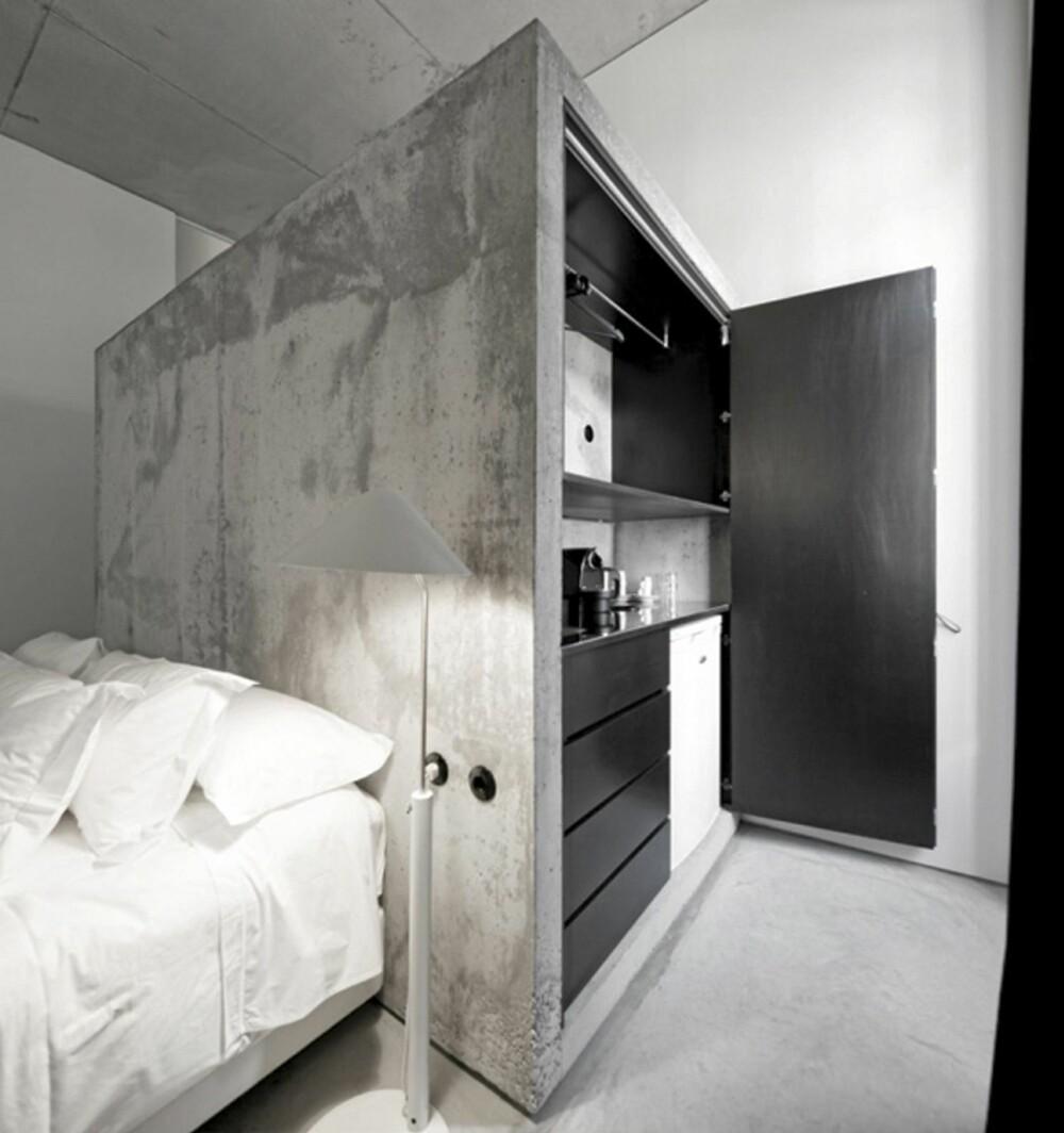 ROM: De stilrene rommene har både kjøkken og bad