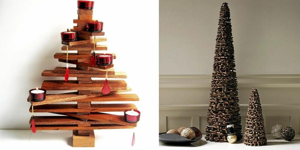 KUL JUL: I et moderne hjem kan det kanskje være lov å prøve seg med et moderne juletre?