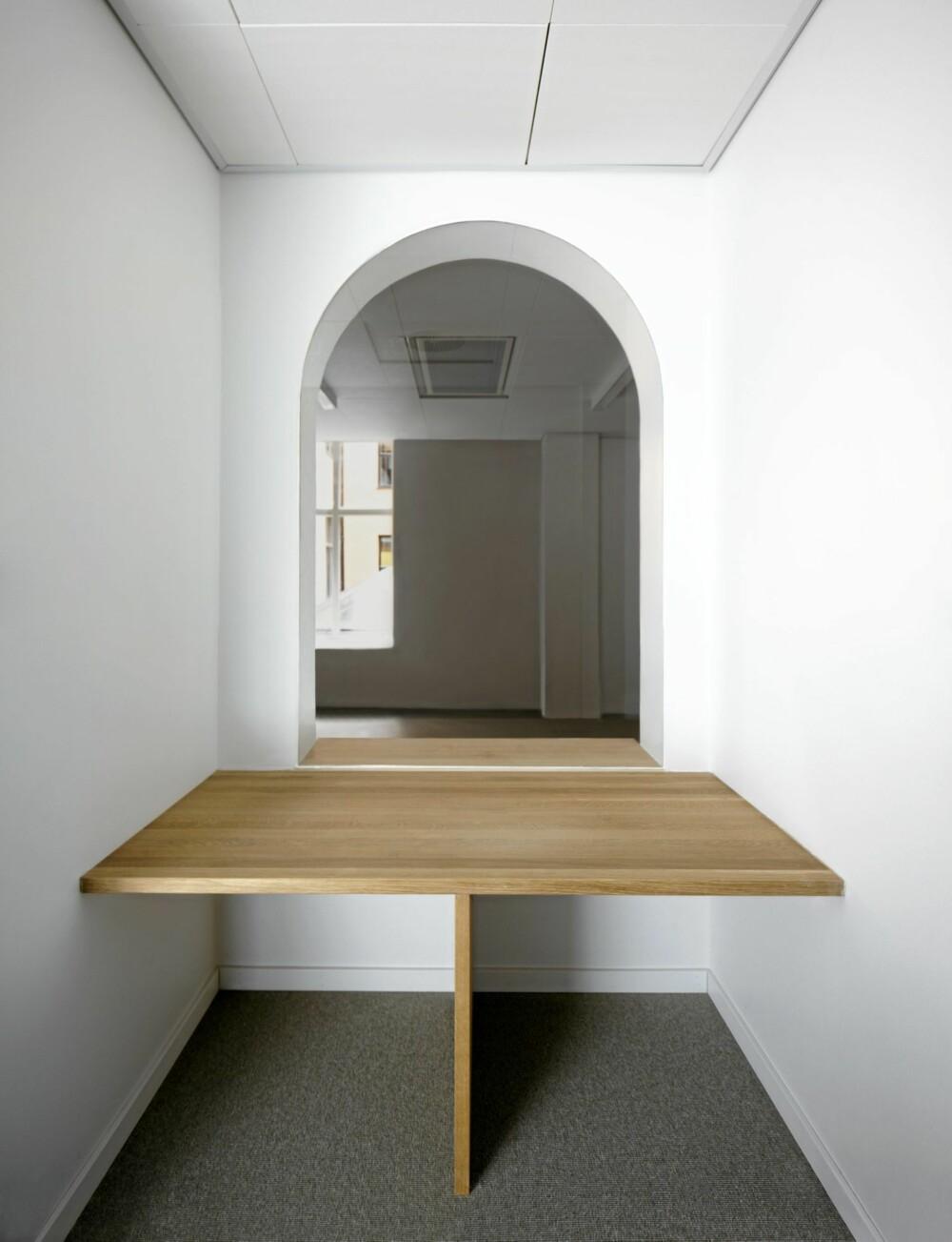 Et av tre møterom inne i klosterhagen.