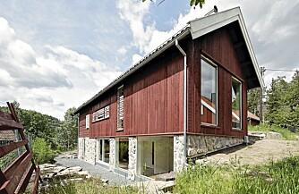 DESIGNLÅVEN:  En arkitekt bisto byggherren med å utforme de nye fasadene.