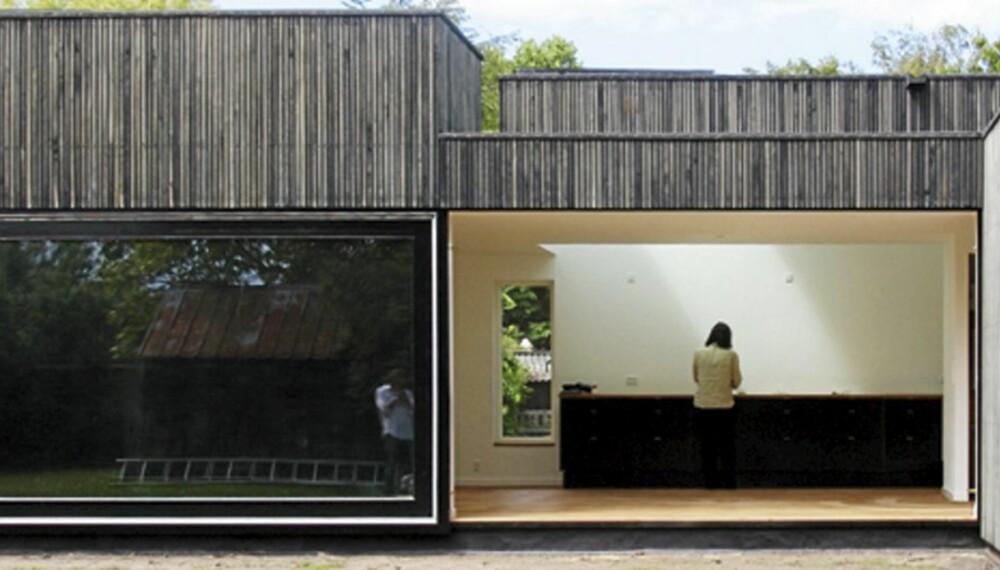 SKYBOX: Et av prosjektene til Primus arkitektkontor, hvor åpninger i taket skaper kontakt med himmelen.