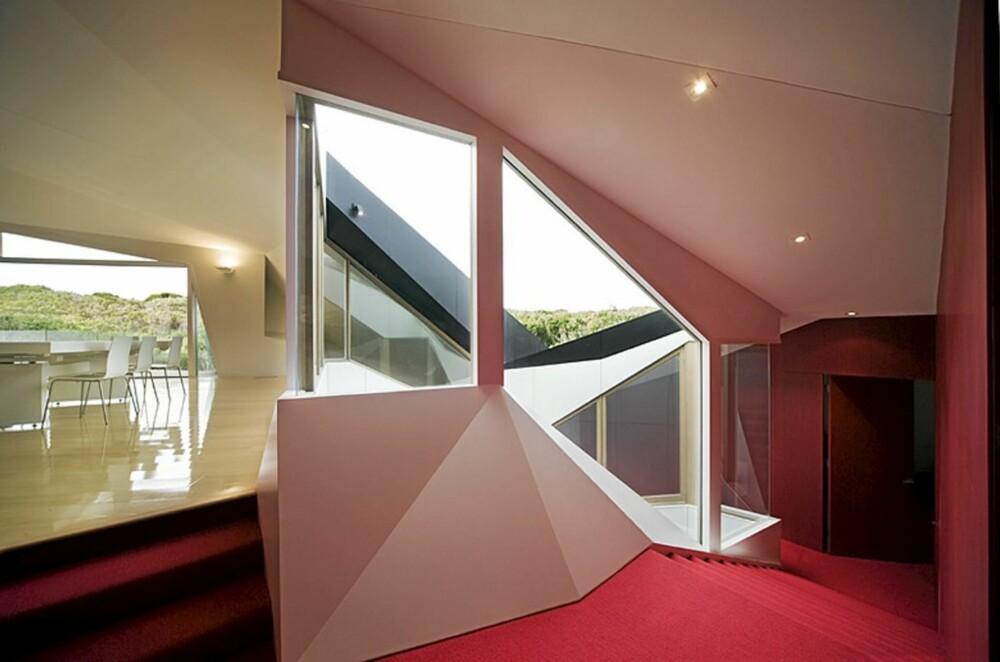 LEKENT: Det verdenskjente huset er inspirert av Klein Bottle teorien.