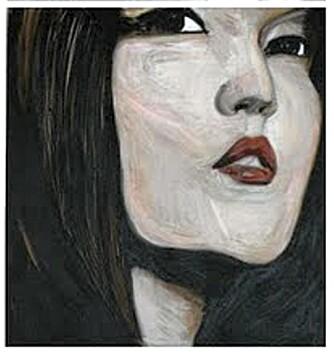 Kunstner Cecilie Grut- Frisvold selger moderne akrylmalerier på bloggen sin.