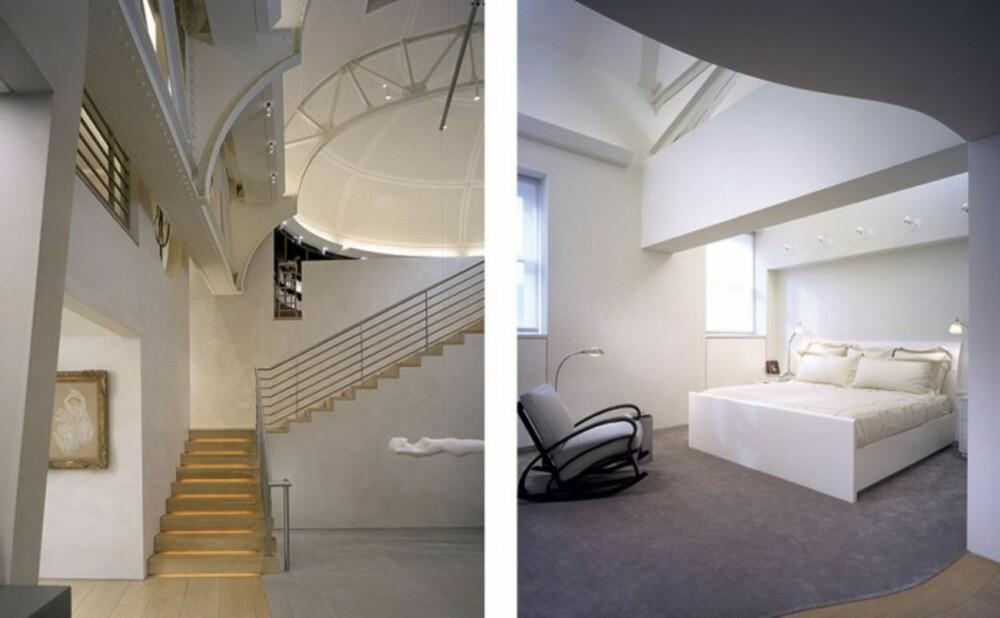 LEK MED LYS: Arkitektene har passet på at så mye naturlig lys som mulig får slippe inn.