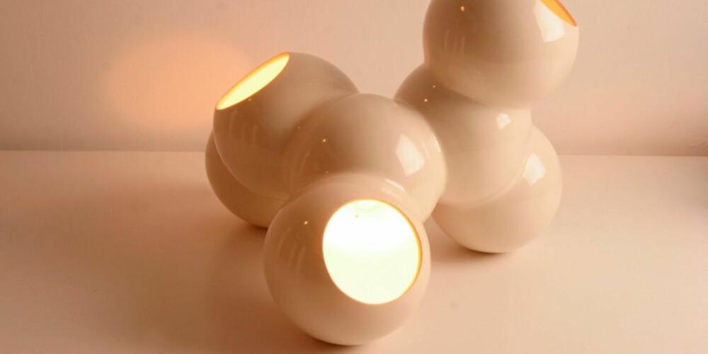 KULER: Coral bordlampe, ca. kr 1200, kontakt Marre Moerell for informasjon om nærmeste forhandler.