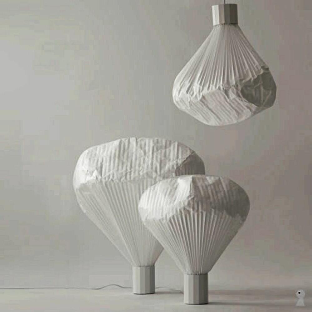 DELIKAT: Denne lampen fra Kvist har et delikat og vakkert uttrykk.
