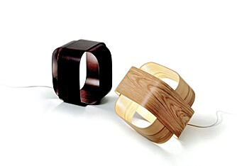 FINER: Trevirke er trendy i høst, og de italienske lampene fra Villa Home Collection i finer treffer kjernen av trenden.