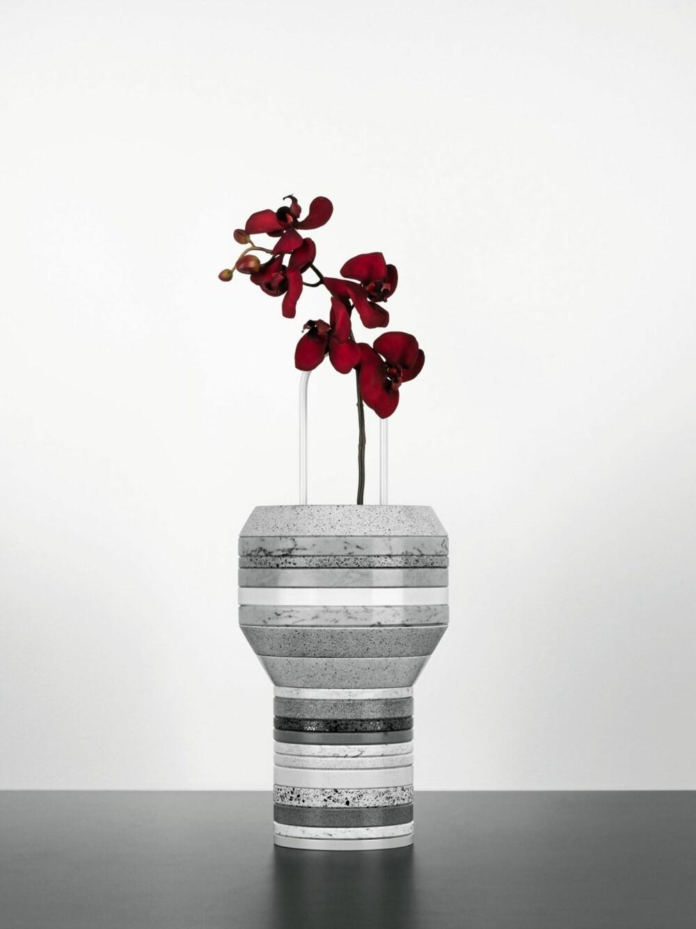 BYGG DIN EGEN VASE: Slab vases fra Cosentino består av Silestone, et spansk komposittmaterial.