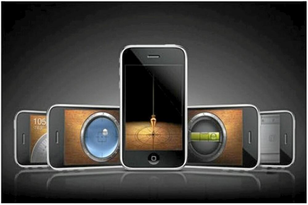 VIRTUELLE VERKTØY: Appen iHandy Carpenter kan hjelpe deg med mange DIY prosjekter.