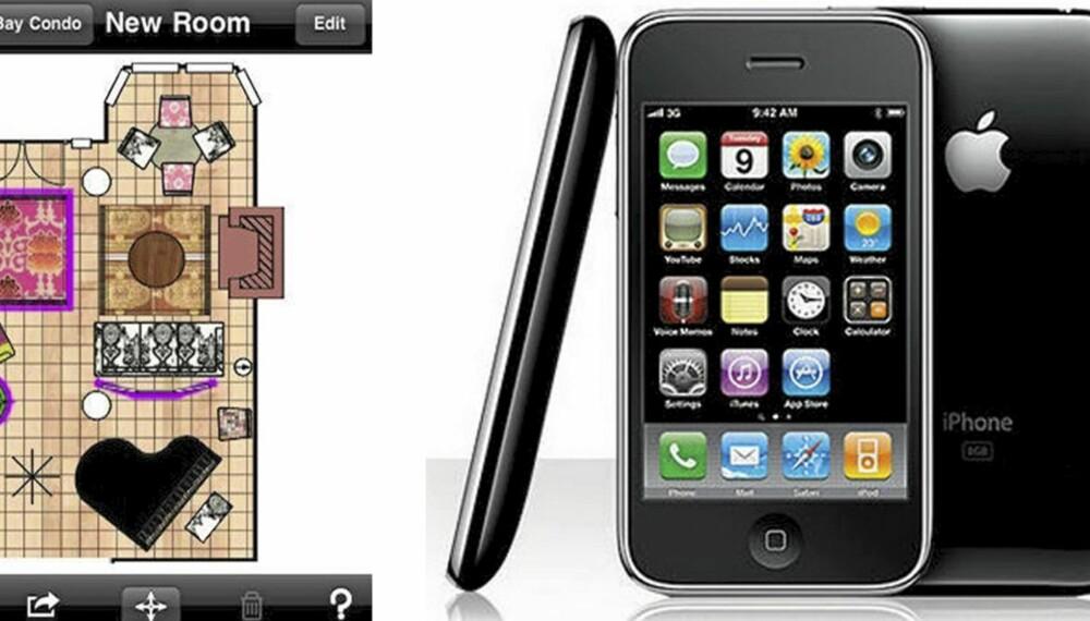 SMÅTT OG GODT: Hvem skulle trodd at man kunen bruke telefonen til å dekorere hjemme?!