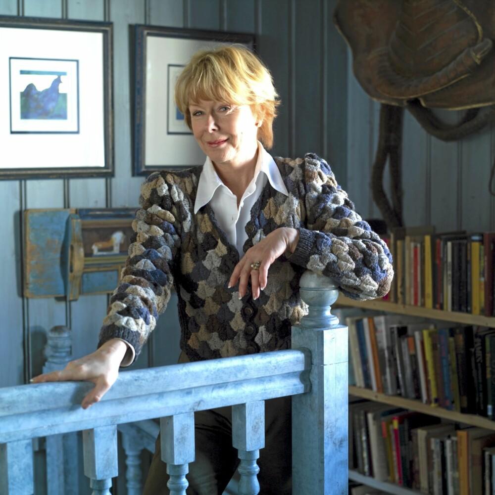 DESIGNKALL: - Jeg ser det som en oppgave å gjøre norsk drakt- og tekstildesign eksotisk og interessant, sier Lise Skjåk Bræk.