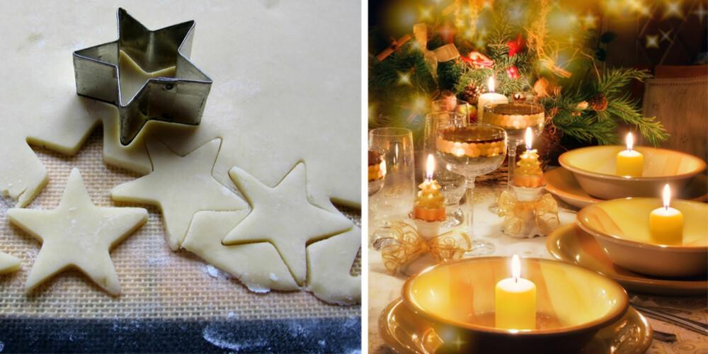 JULEBORD: Desember er måneden hvor vi inviteres på aller flest selskapeligheter.