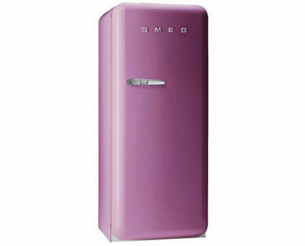 EN KJØLESKAPDRØM: Det er ikke få som drømmer om et SMEG-kjøleskap. Velger du rosa er du tøff!
