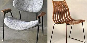 Møbler fra Utopia Retro Modern.