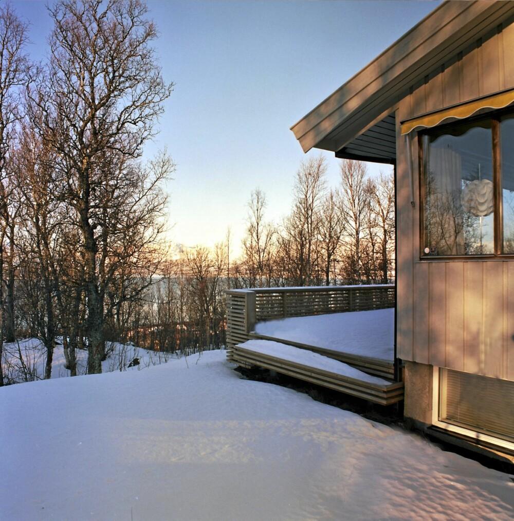 ET TRADISJONELT UTGANGSPUNKT: Huset fra 1977 er av en modell som det finnes utrolig mange av over hele landet.