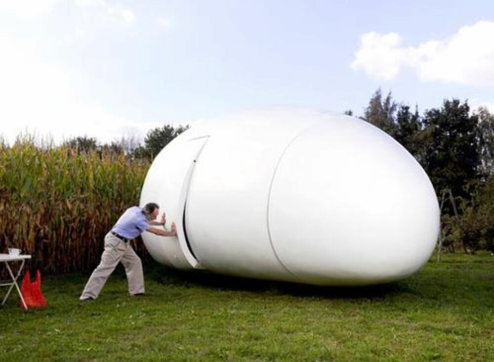 "CAMPING: """"Blob"""" fungerer på mange måter som en moderne campingvogn."