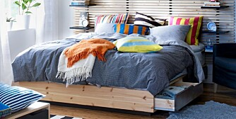 OPPBEVARING HJEMME: En sengeskuffe er en av flere muligheter dersom du trenger smarte oppbevaringsløsninger i boligen.