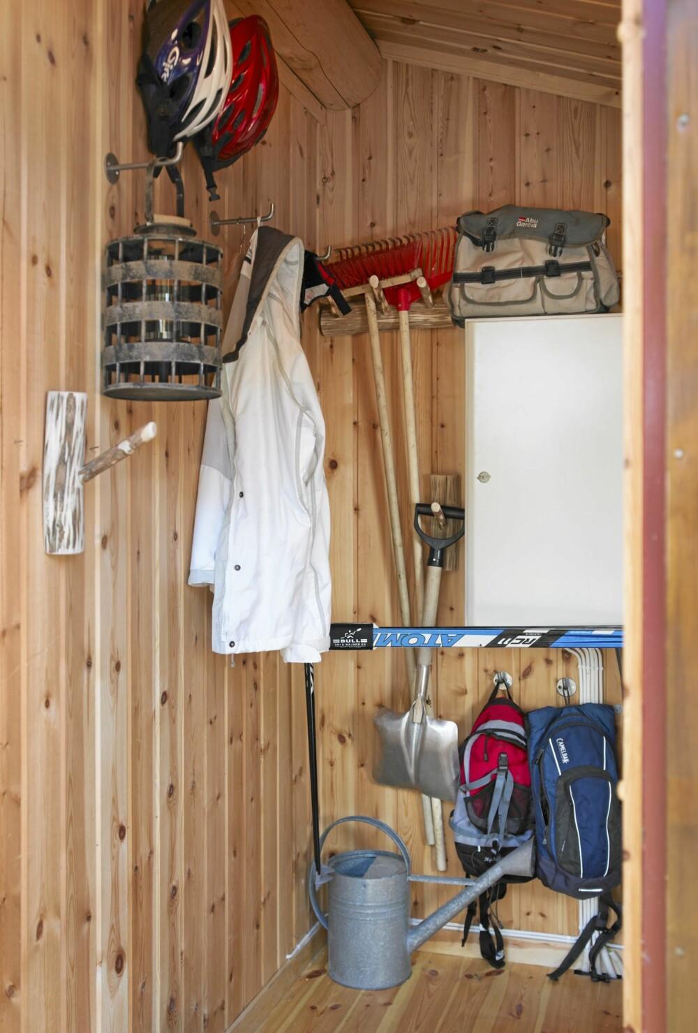 SKAP: I små skap og boder gjelder det å finne gode løsninger som utnytter plassen.