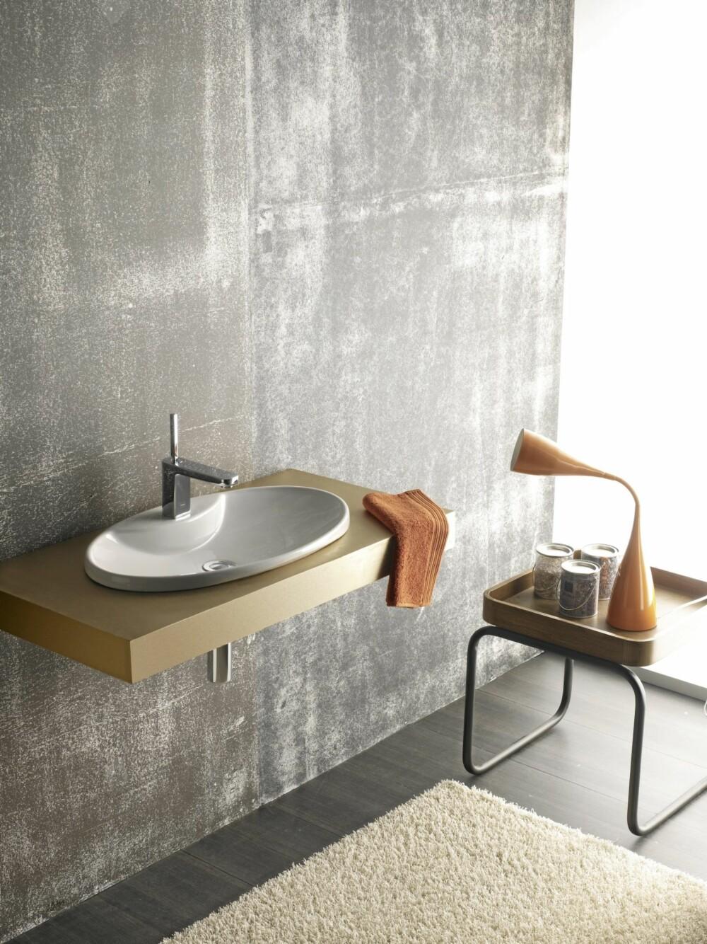 RUNDE FORMER: Det har lenge vært mye firkantete vasker, nå blir det mer av de runde formene.