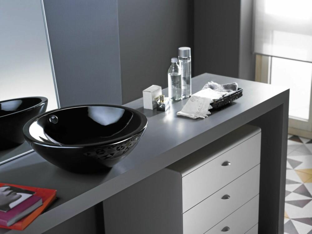 SVARTE VASKER: Svarte vasker er i ferd med å innta norske bad.
