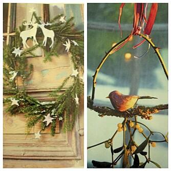 BRUK NATUREN: Ida oppfordrer deg til å bruke naturen når du skal pynte til jul.