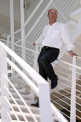 - Tilbygget åpnet opp og forynget villaen vår betraktelig, sier byggherre Robert Tandberg.