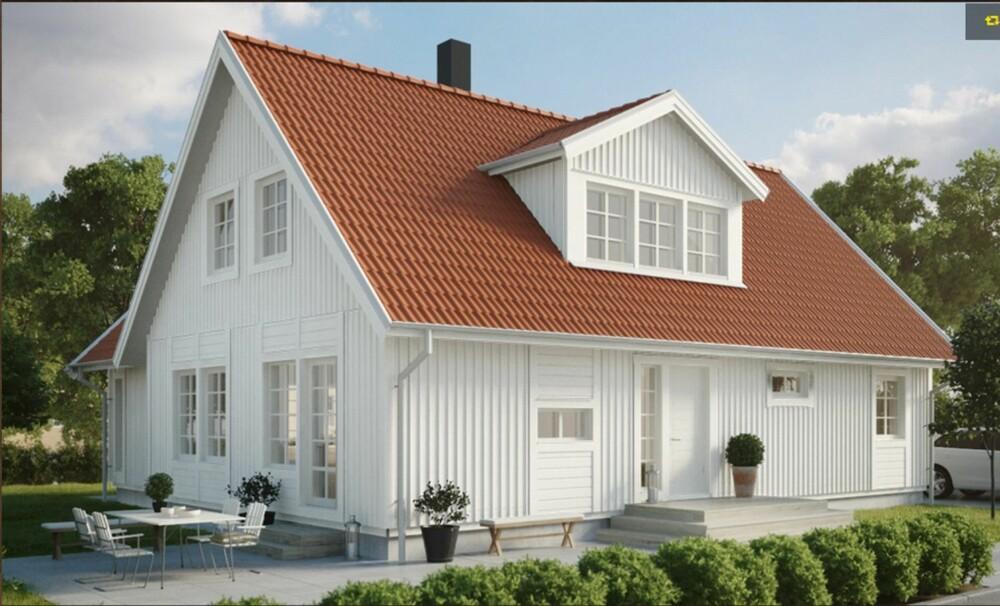 Modernistisk Dette koster ferdighuset egentlig - Arkitektur BK-73