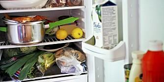 KOMBISKAP: Ikke alle kombiskap klarer å fryse ned maten så raskt som de burde.