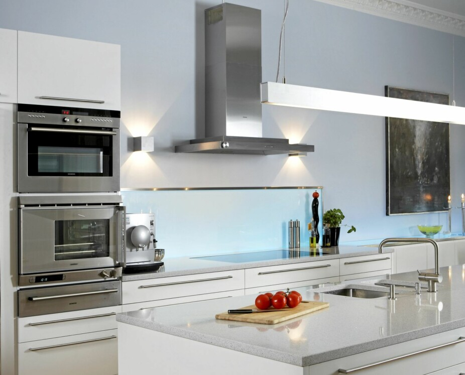 STRØMSLUKERE: Vi får stadig flere elektriske apparater på kjøkkenet og må planlegge deretter.
