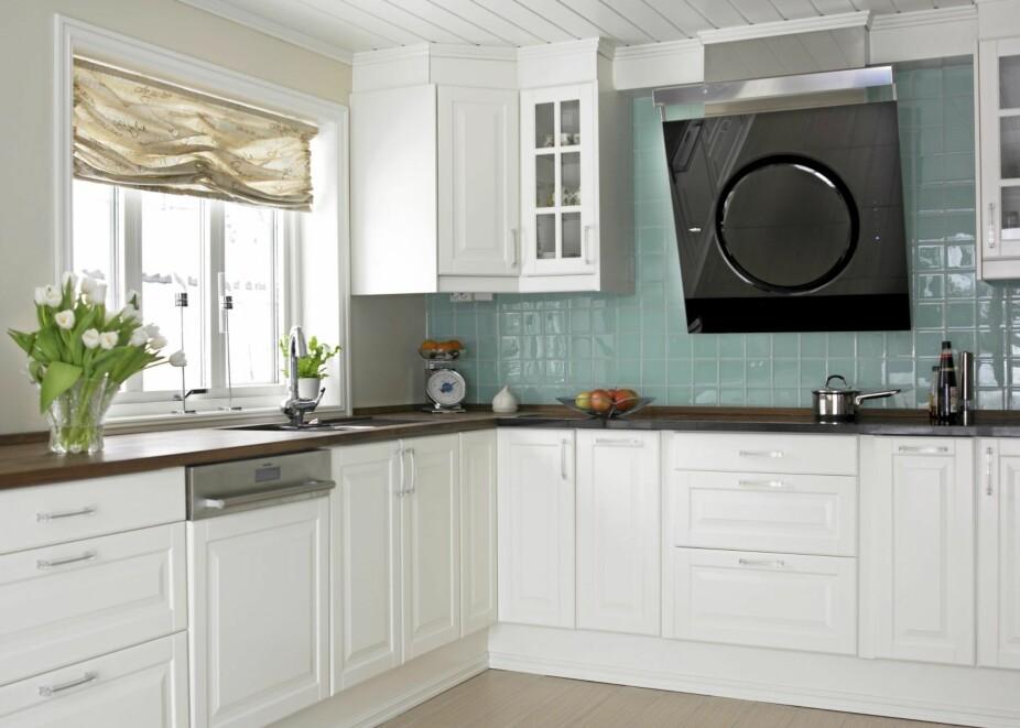 VENTILATORFELLE: Legg en ventilasjonsplan for kjøkkenet før du velger kjøkkenhette.