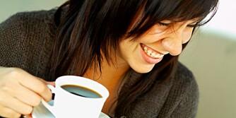 EFFEKT: Kaffe holder oss ikke bare våkne, den ser ut til å ha effekt på forbrenning, blodtrykk og insulinfølsomhet også.