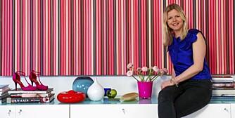 HJEMME HOS stylist Margrethe Gilboe får fargene den plass de fortjener.