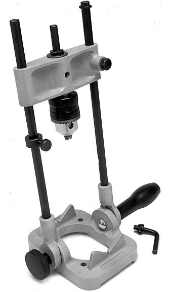 Justerbar: Denne drillguiden kan du justere i den vinkelen du ønsker. kr 395/aurus.no
