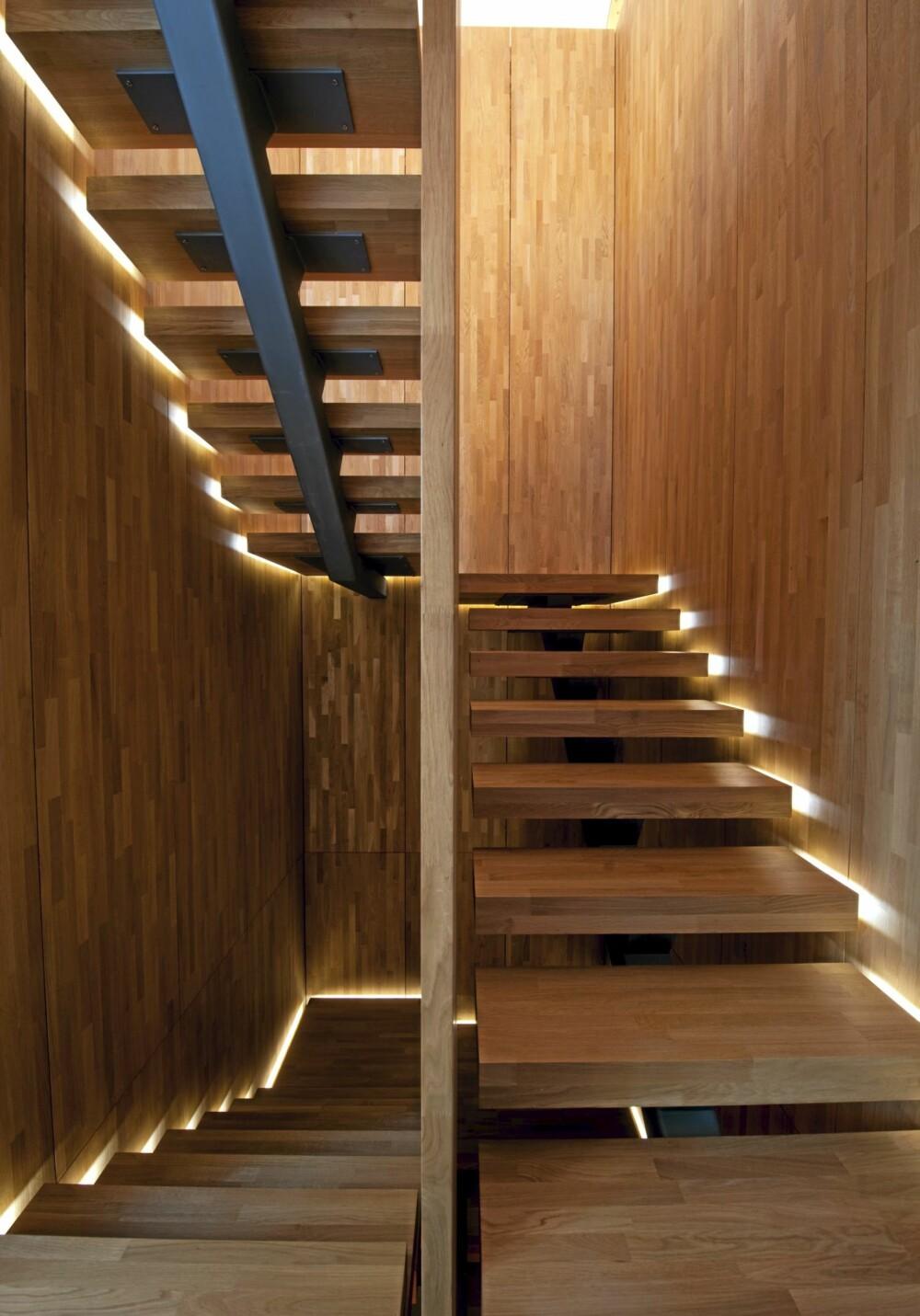 HUSETS SMYKKE: Dette trapperommet på Kolbotn er trolig et av Norges mest særpregede.