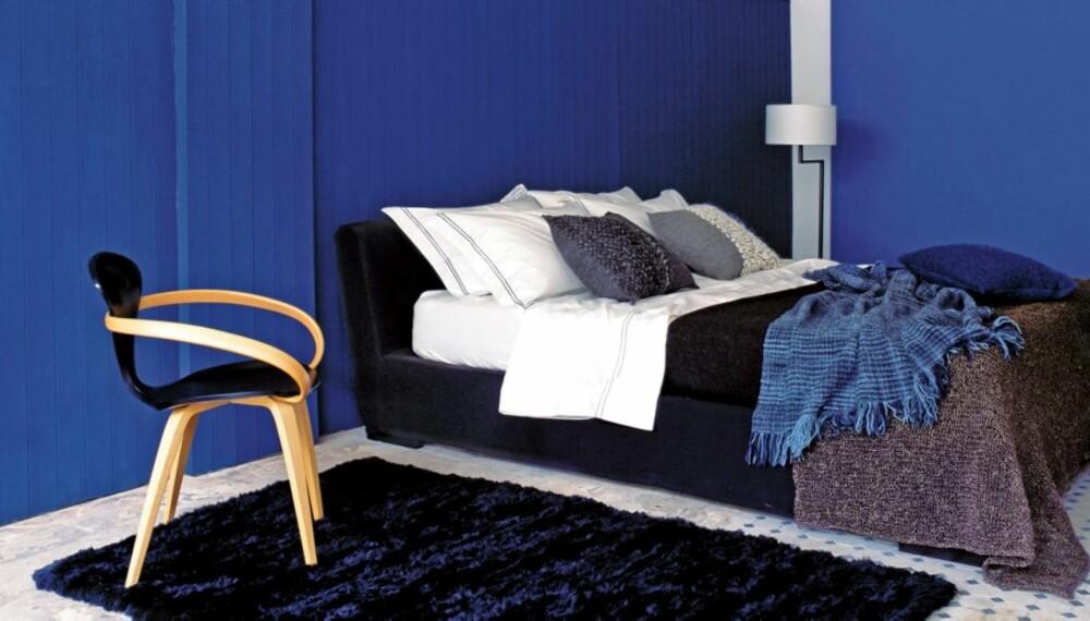 MAL: Farger gjør mye for rommets stil.