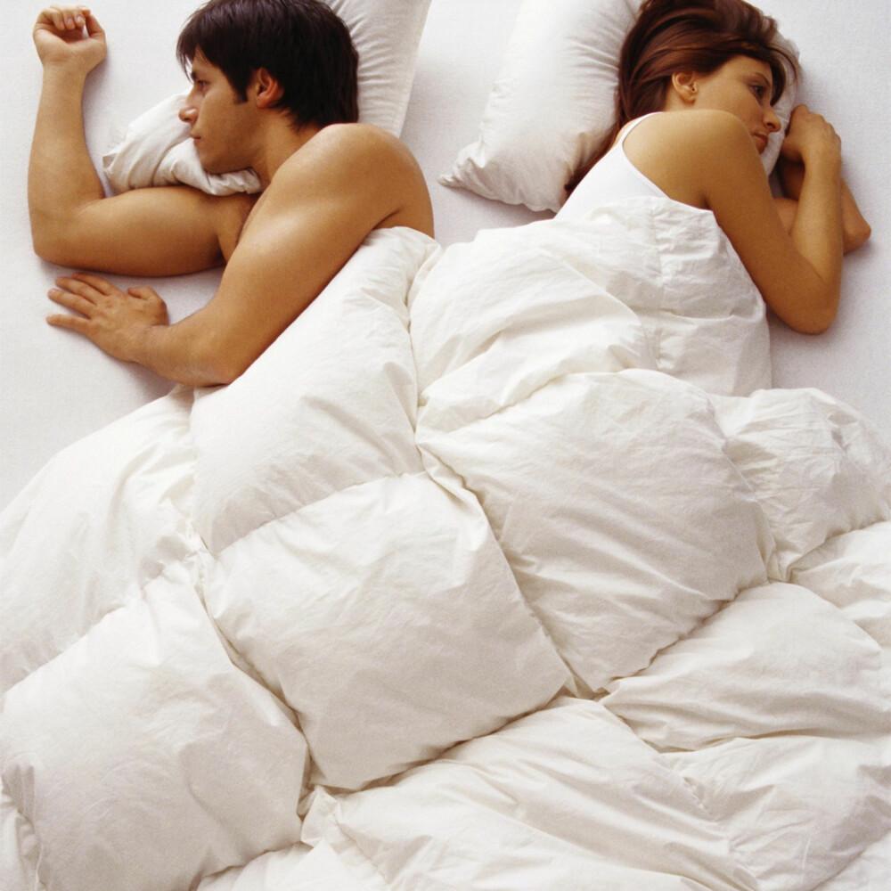 SENGEKOS: Det er viktig å ta hensyn til begges behov når man innreder soverommet.