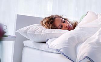 TYKK ELLER TYNN: Sover du sammen med partneren og dere har forskjelllige varmebehov kan det være en ide å ha en dyne hver.