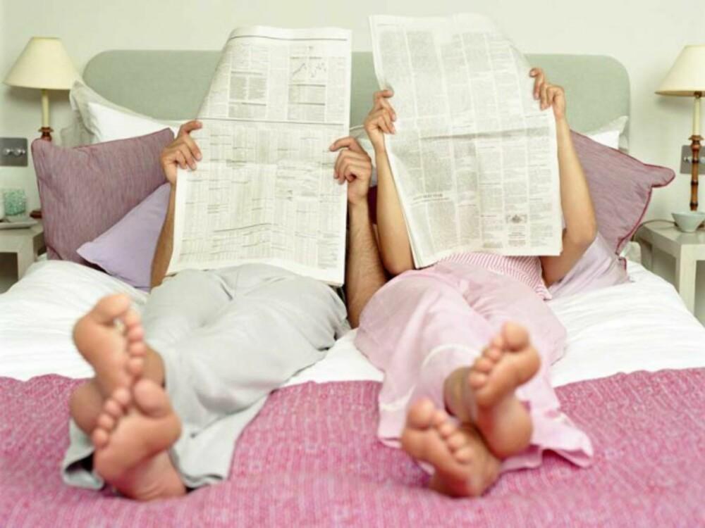 EKTESENG: Det at man er et par betyr slett ikke at man deler alle behov for soverommet.